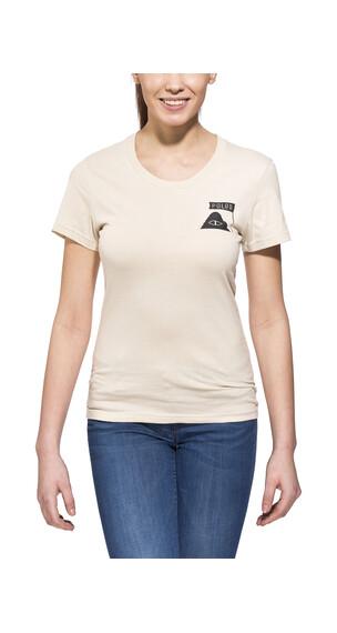 POLER Summit t-shirt Dames beige